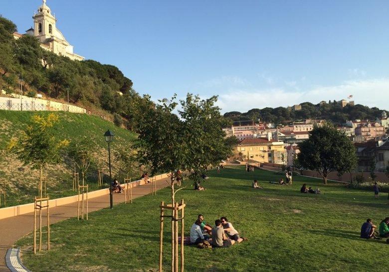 Jardim do Cerco da Graça Lisbon