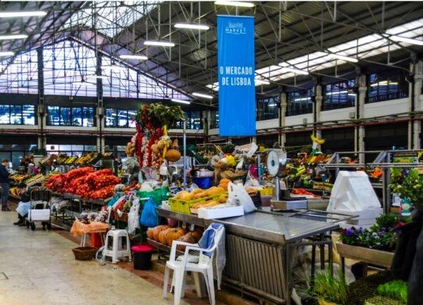 Mercado da Ribeira Lisbon