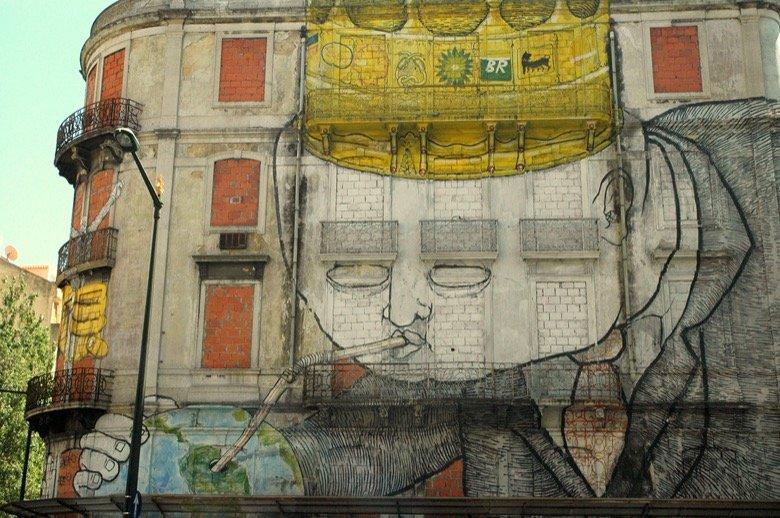 Picoas Street Art Lisbon