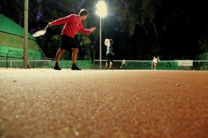 Tennis at 1º Maio Lisbon