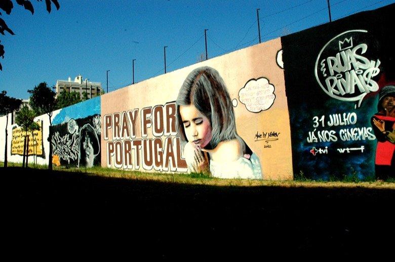 The Amoreiras Wall Lisbon