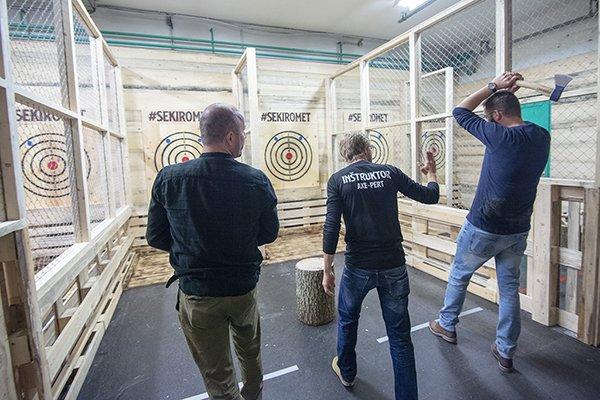 Axe Throwing Ljubljana