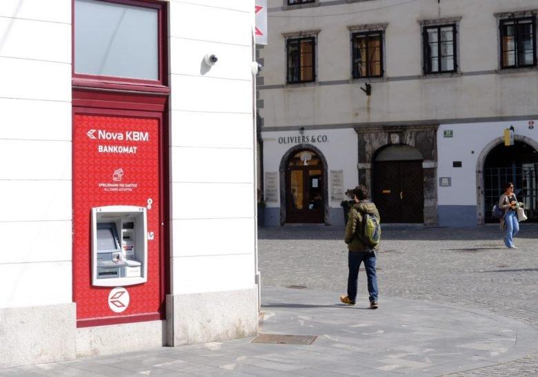 Bankomat Ljubljana