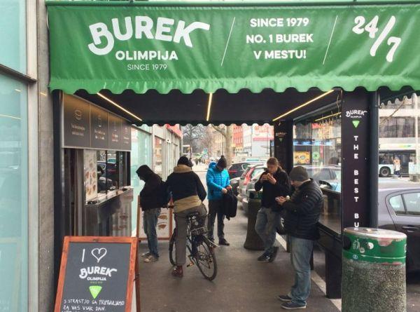 Burek Olimpija Ljubljana