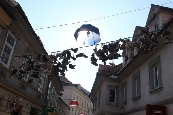 Čevlji na žici Ljubljana