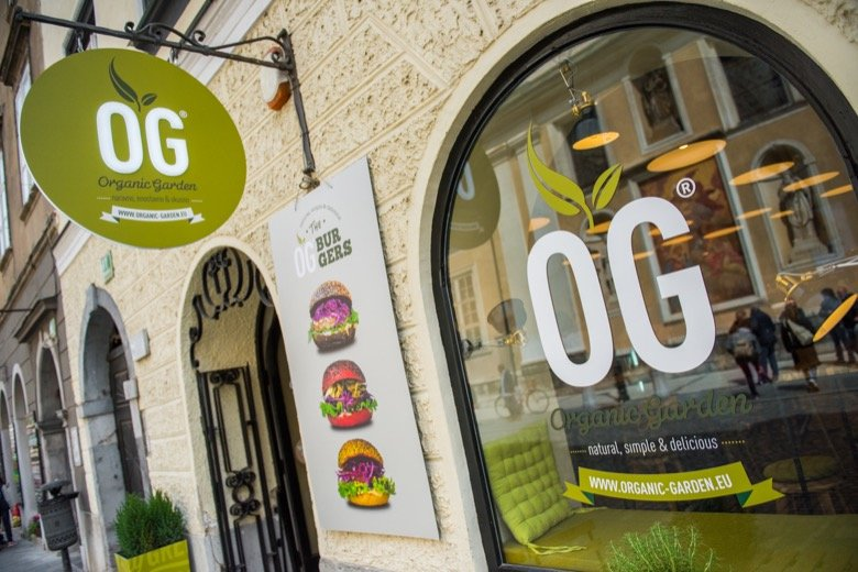 Organic Garden – Delicious veggie burgers
