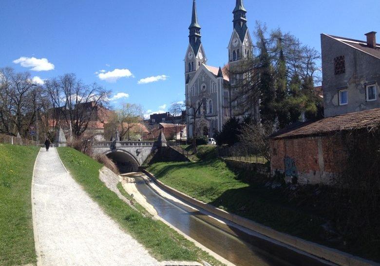 Park Gradaščica Ljubljana