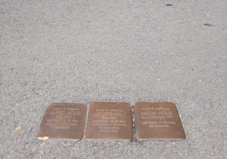Stolpersteine Ljubljana