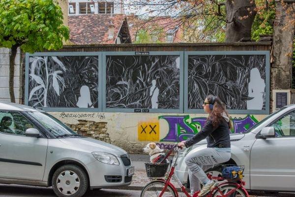 Street gallery Ljubljana