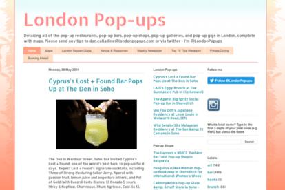 London Pop-Ups Blog