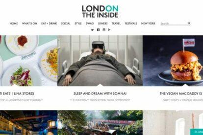 London on the Inside blog