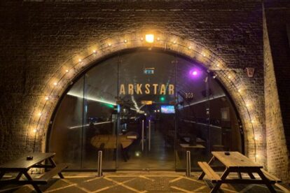 Arkstar – Cool pub in railway arch