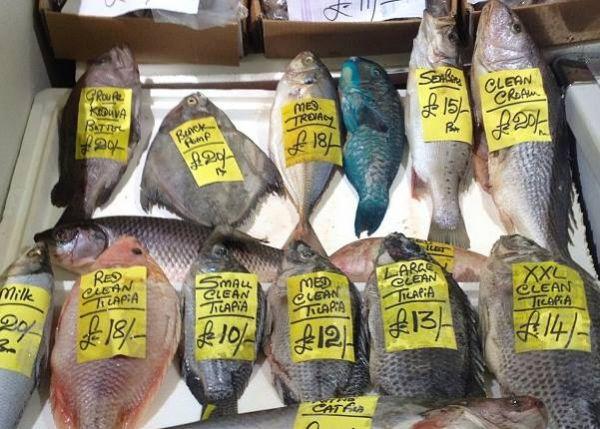 Billingsgate Fish Market London