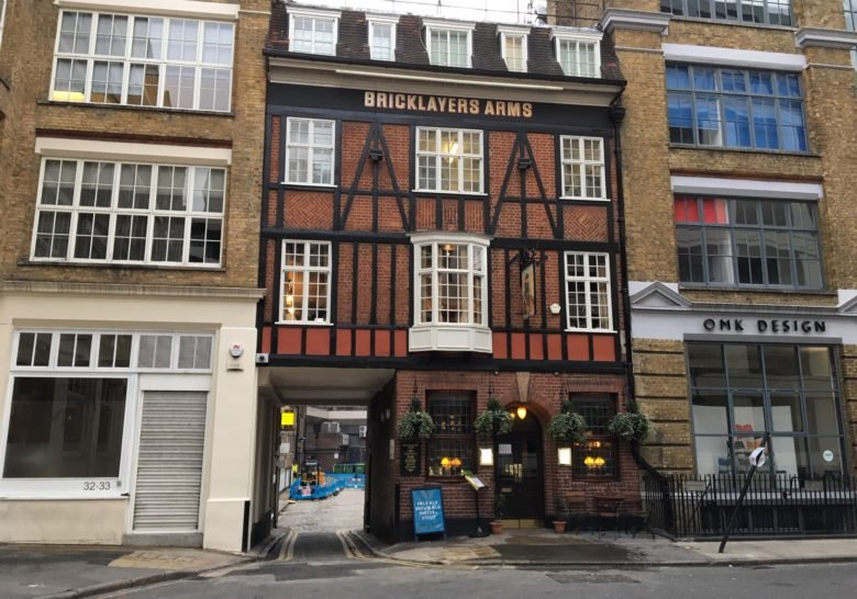 Bricklayers Arms London