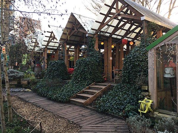 Dalston Eastern Curve Garden London
