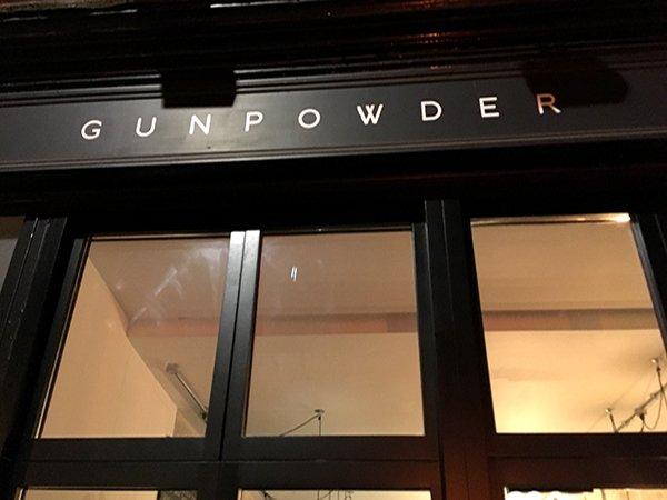 Gunpowder London