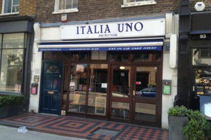 Italia Uno – Best Italian cafe