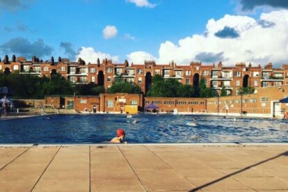 Parliament Hill Lido London