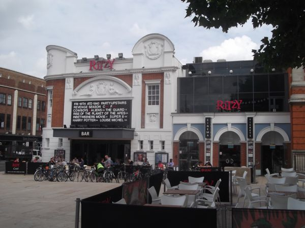 Ritzy Cinema – Cosy but retro