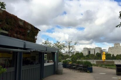 Roof Garden, Queen Elizabeth Hall London