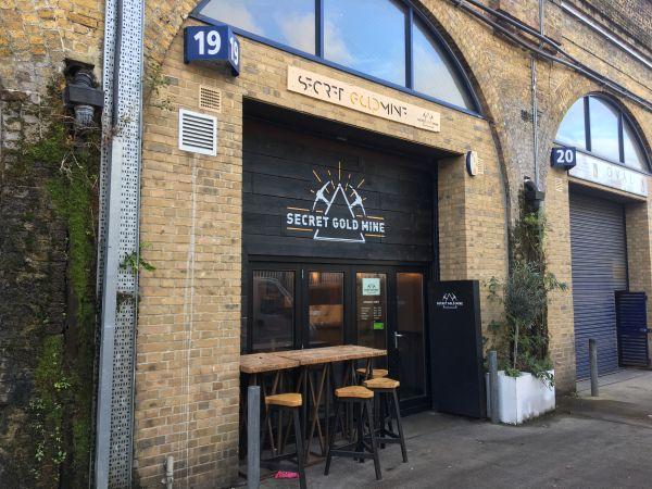 Secret Goldmine Cafe London