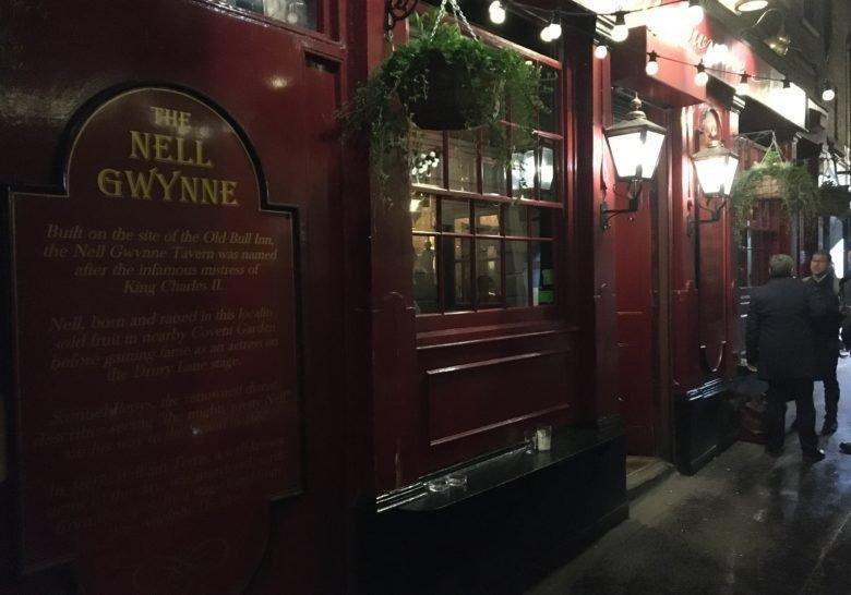 The Nell Gwynne Tavern London