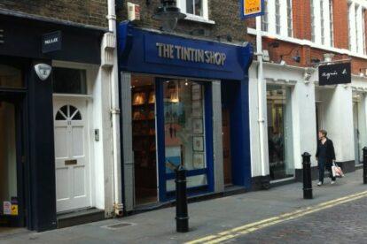 The Tintin Shop London