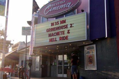 New Beverly Cinema Los Angeles