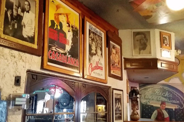Casablanca – Margaritas & memorabilia
