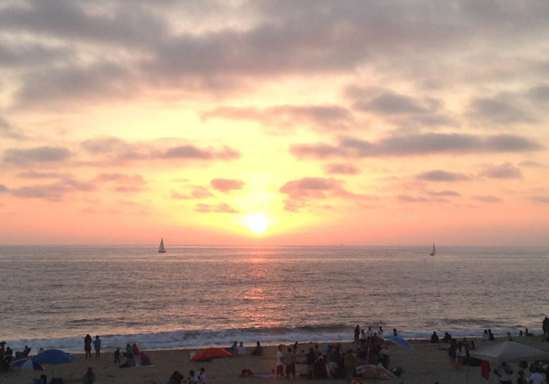 Dockweiler Beach Los Angeles
