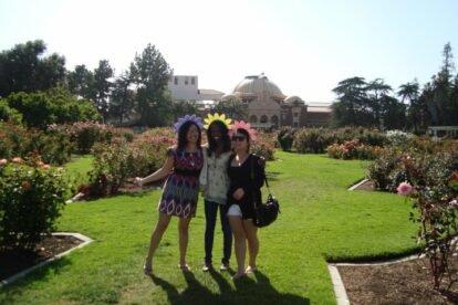 Exposition Park Rose Garden Los Angeles