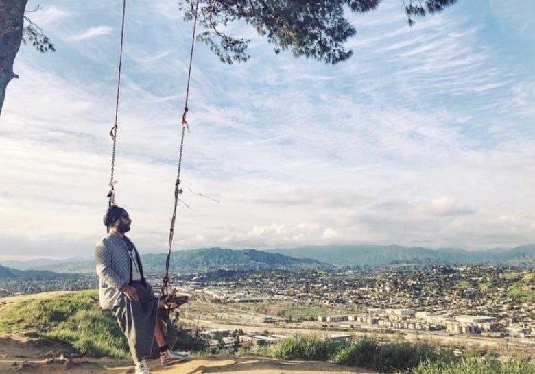 Hidden Swing in Elysian Park Los Angeles