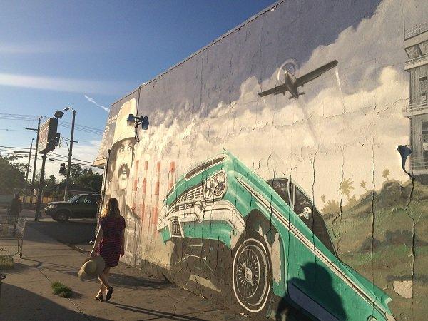 Mural Mile Los Angeles