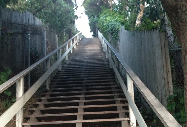 Santa Monica Stairs Los Angeles