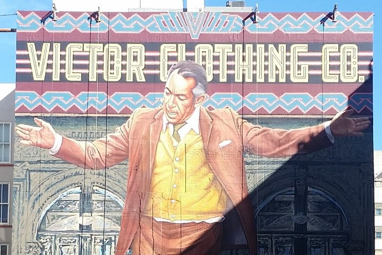 The Pope of Broadway Mural Los Angeles