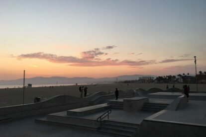 Venice Beach Skatepark Los Angeles