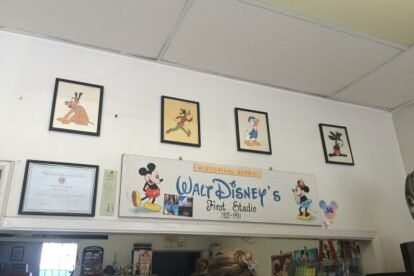 Walt Disney's First Studio Los Angeles
