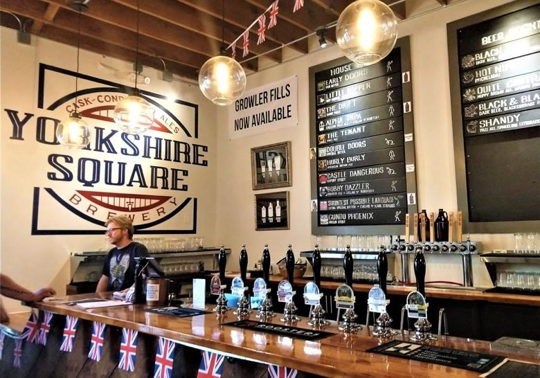 Yorkshire Square Brewery Los Angeles