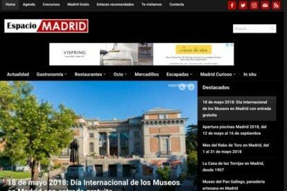 Espacio Madrid blogs