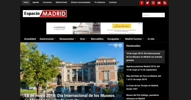 Espacio Madrid blogs
