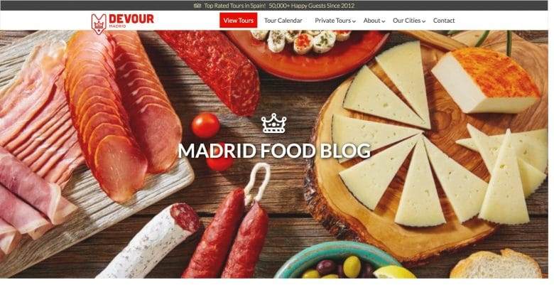 Madrid Travel & Food Blog