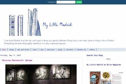 My Little Madrid blogs