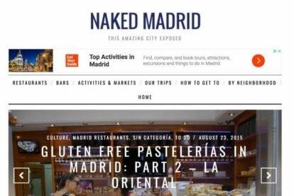 Naked Madrid blogs