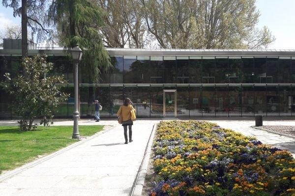 Biblioteca El Retiro Madrid