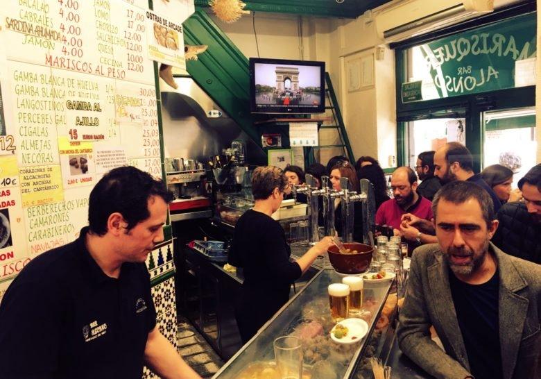 Cervecería Alonso Madrid