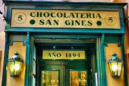 Chocolatería San Ginés Madrid