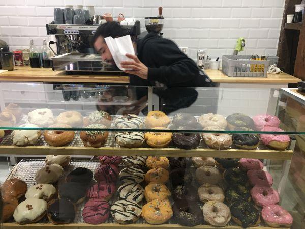 Delish Vegan Doughnuts Madrid