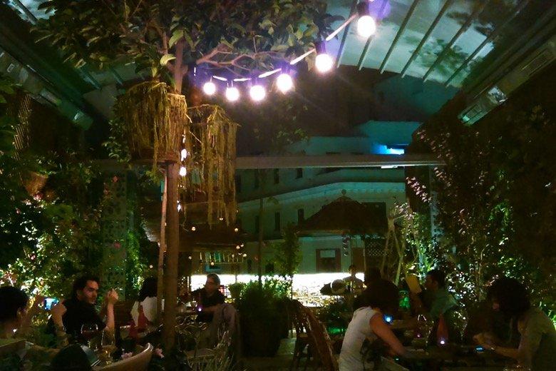 El jardin secreto Madrid