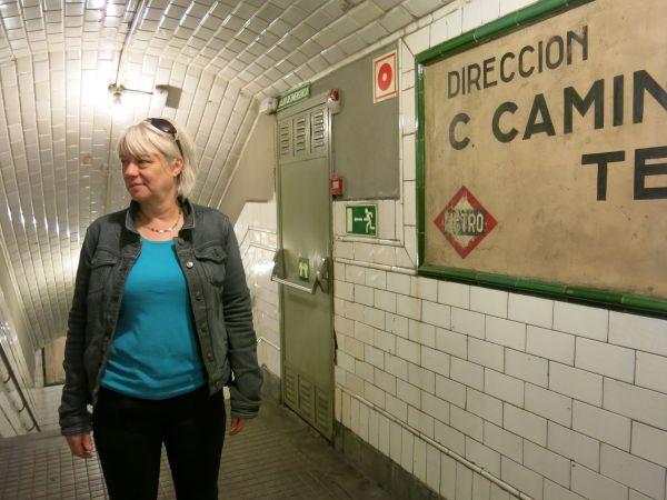 Estación de Chamberí Madrid