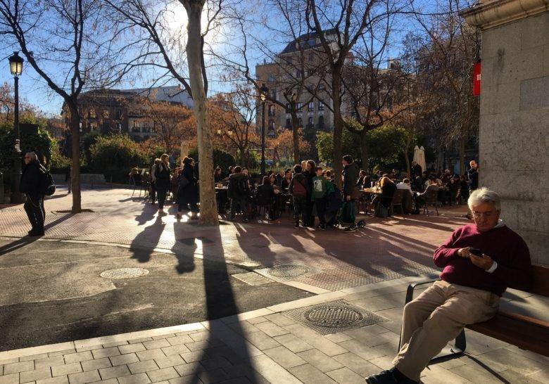 Plaza de Olavide Madrid